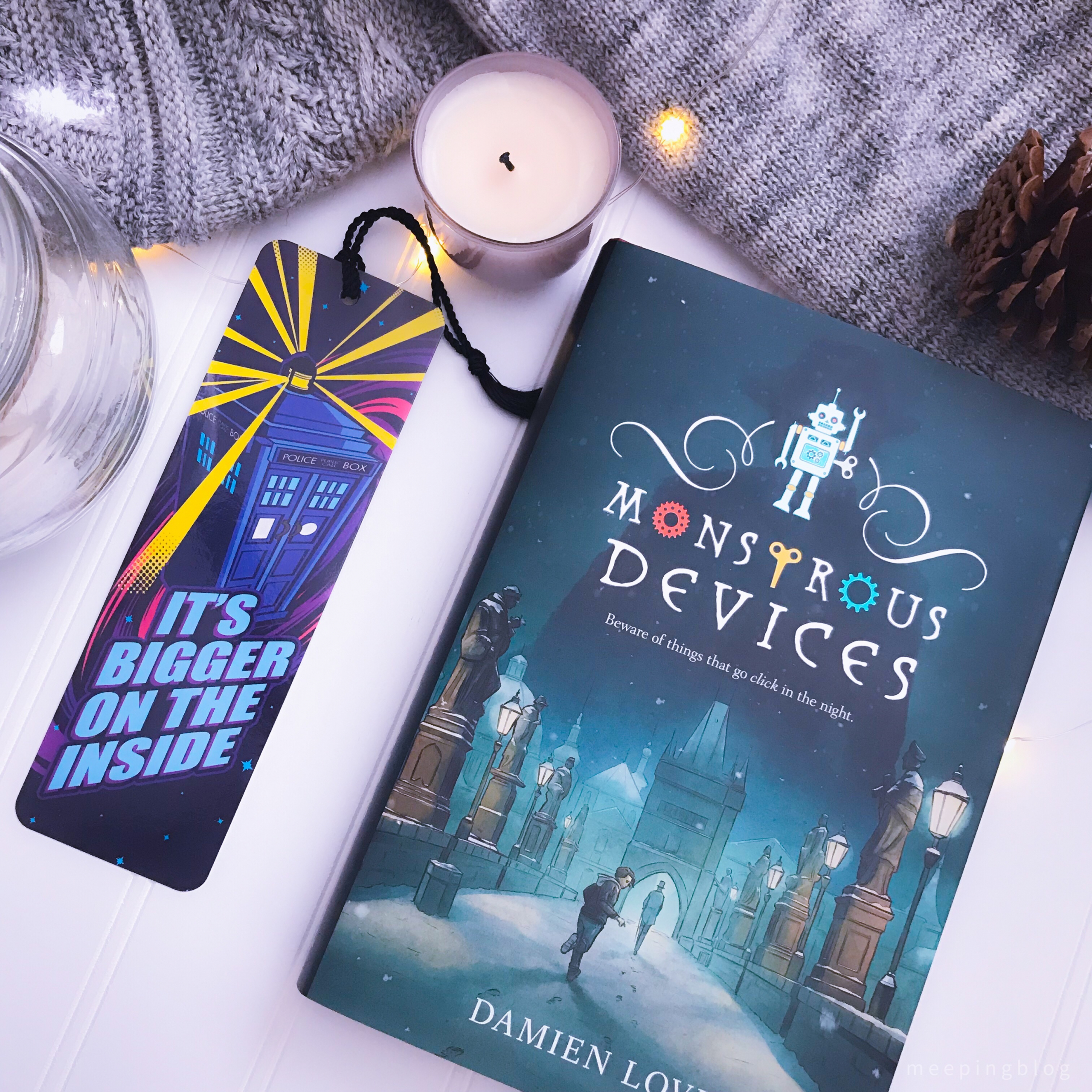 Monstrous Devices by Damien Love   Book Review