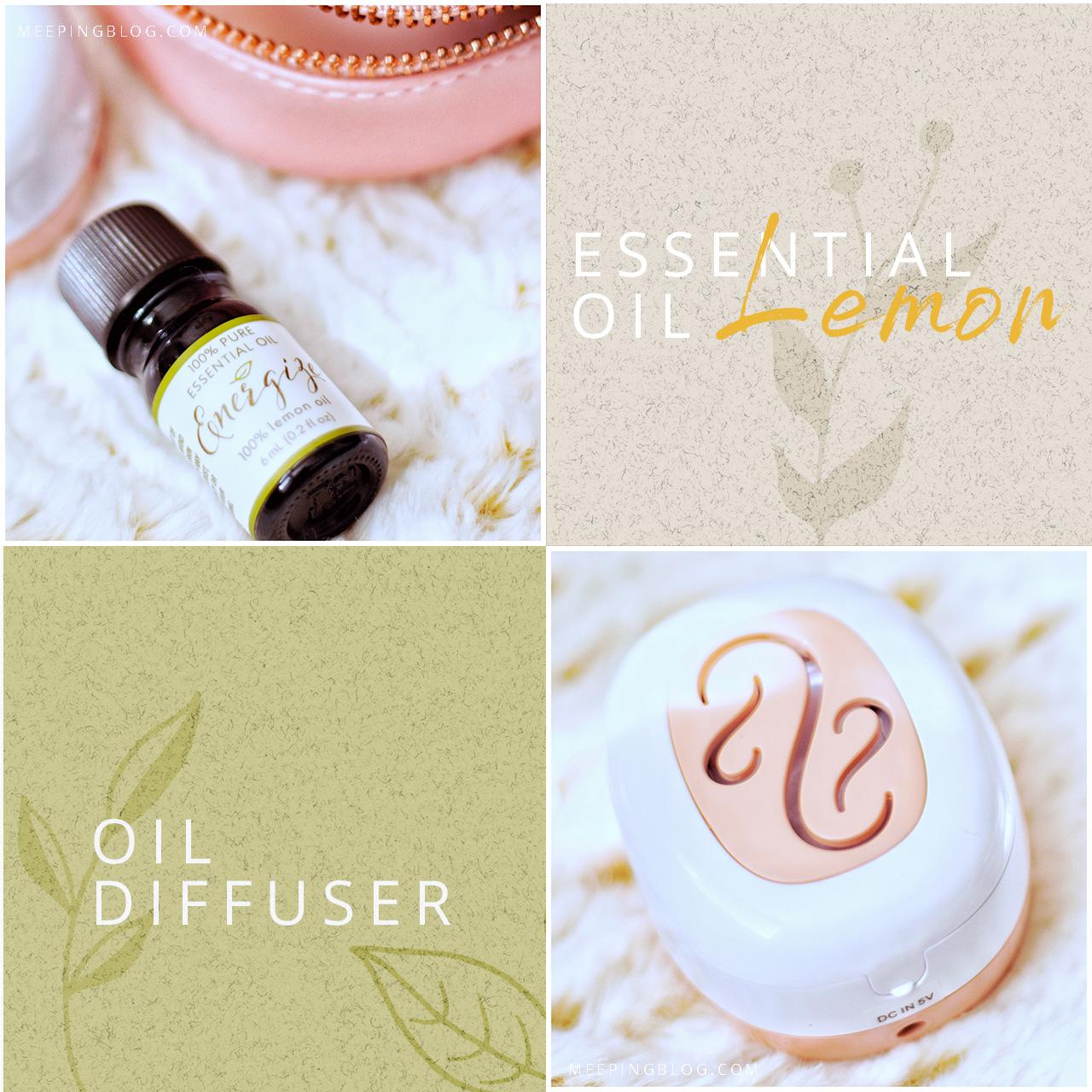Laura Ashley Portable Essential Oil Diffuser Details